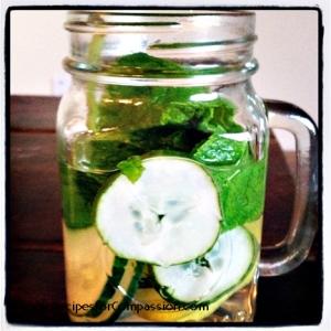infused water web copyright Meghan Oona Clifford vegan cookbook