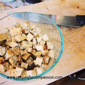 marinating tempeh recipes for compassion vegan cookbook by meghan oona clifford