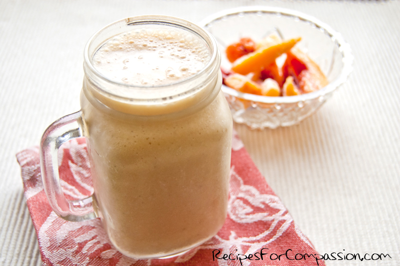 Peaches and Coconut Cream Smoothie web