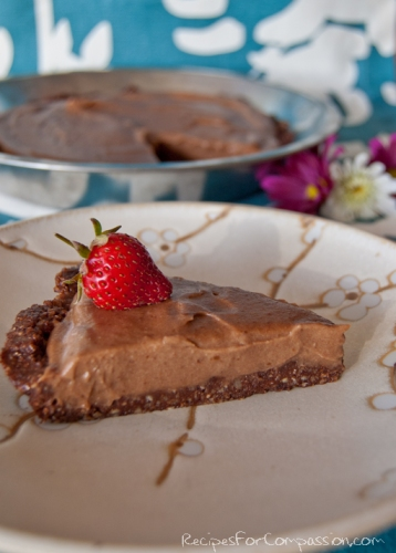 Chocolate Cream Torte 1 by Recipes for Compassion blog
