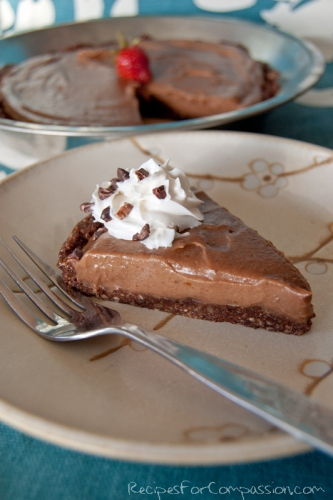 Chocolate Cream Torte 2 by Recipes for Compassion blog