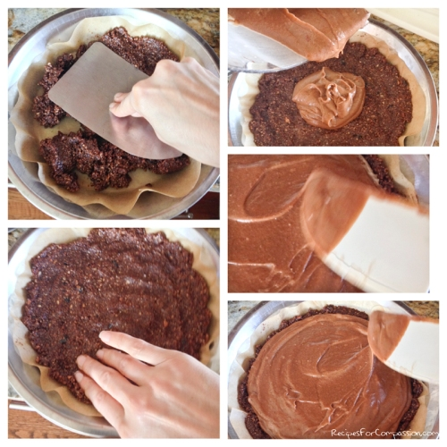 Chocolate Torte How To by Recipes for Compassion blog