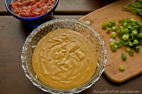 Nacho Cheese 1 by Recipes for Compassion blog