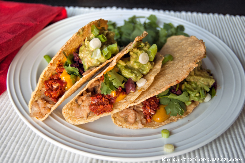 Tasty Tempeh Tacos – Recipes For Compassion
