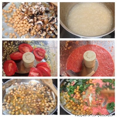 Chana Masala Step by Step by Recipes for Compassion