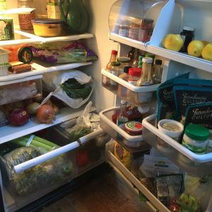 100% vegan fridge!