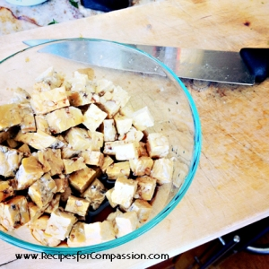 how to marinate tempeh, how to marinate tofu