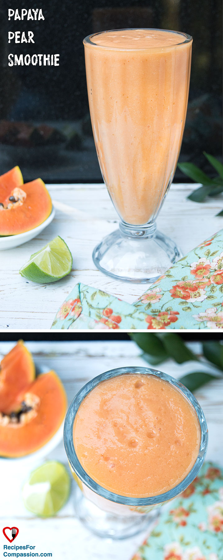 papaya-pear-smoothie-pinterest